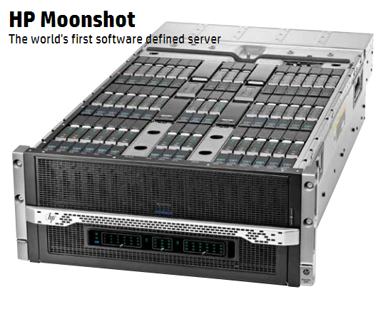 Серверная система HP Moonshot 1500